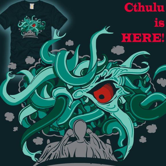 Cthulu is here!