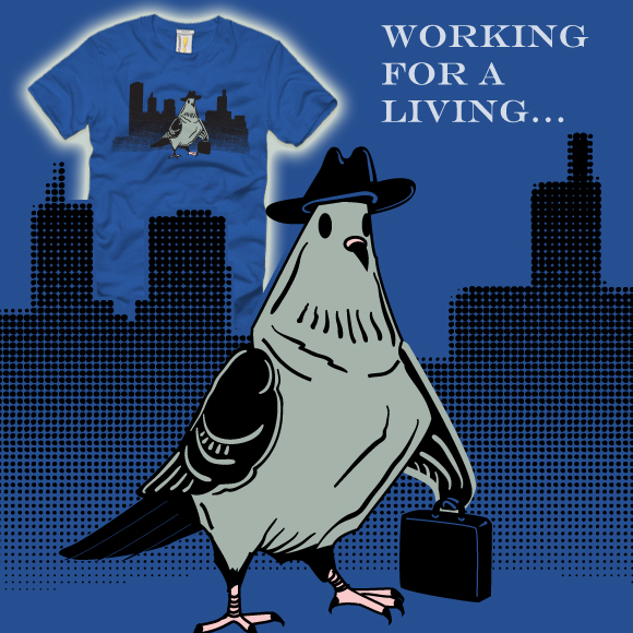 Working Pigeon